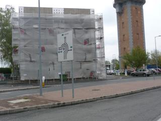 Győr, Budai utca 2. irodaház felújítási, átalakítási munkái 2008