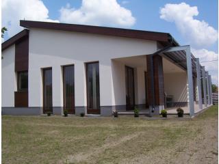 Győrszentiván, Huszka Jenő utcai. családi lakóház építése 2008