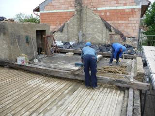 Győr, Bem tér 9. társasház felújítási, bővítése 2010