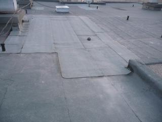 Győr, Soproni út lapos tető szigetelés 2010